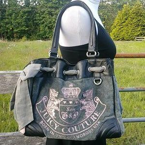 Juicy couture shoulder purse